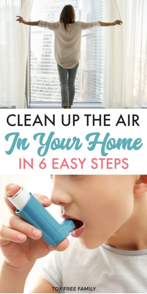 Clean up the Air in Your Home in 6 Easy Steps