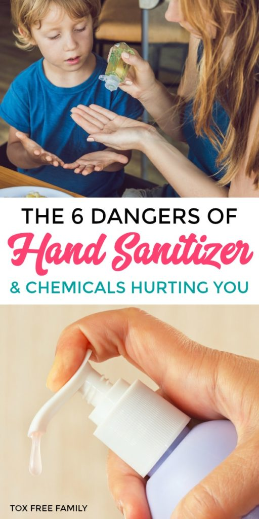 Dangers of Hand Sanitizer and Chemicals in Hand Sanitizer
