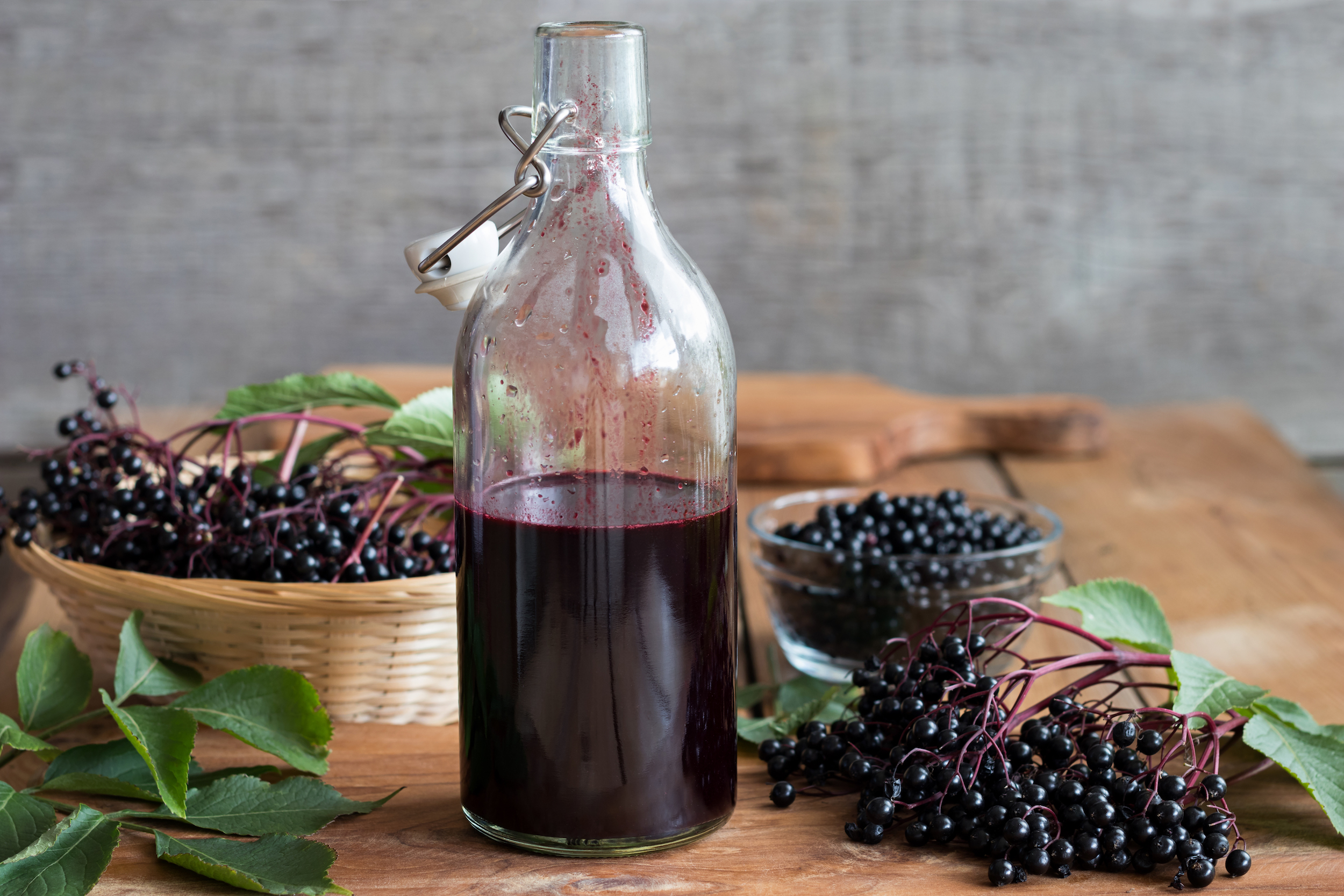 How to Make Your Own Elderberry Syrup to Fight Off Cold & Flu