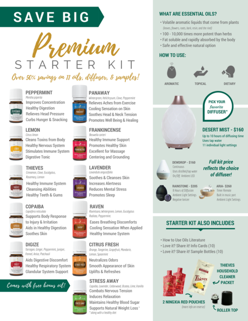 young living premier starter kit