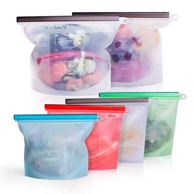 silicon food storage bags