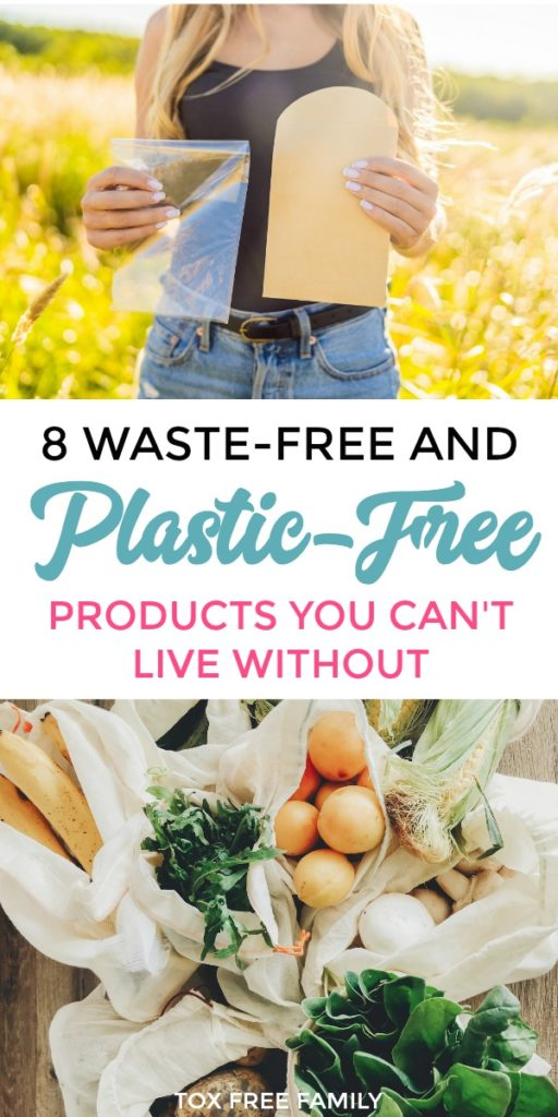 Here are 8 waste free and non-plastic food storage containers you can't live without. Reduce plastic exposure & chemicals by using safe, non-toxic means to store food.