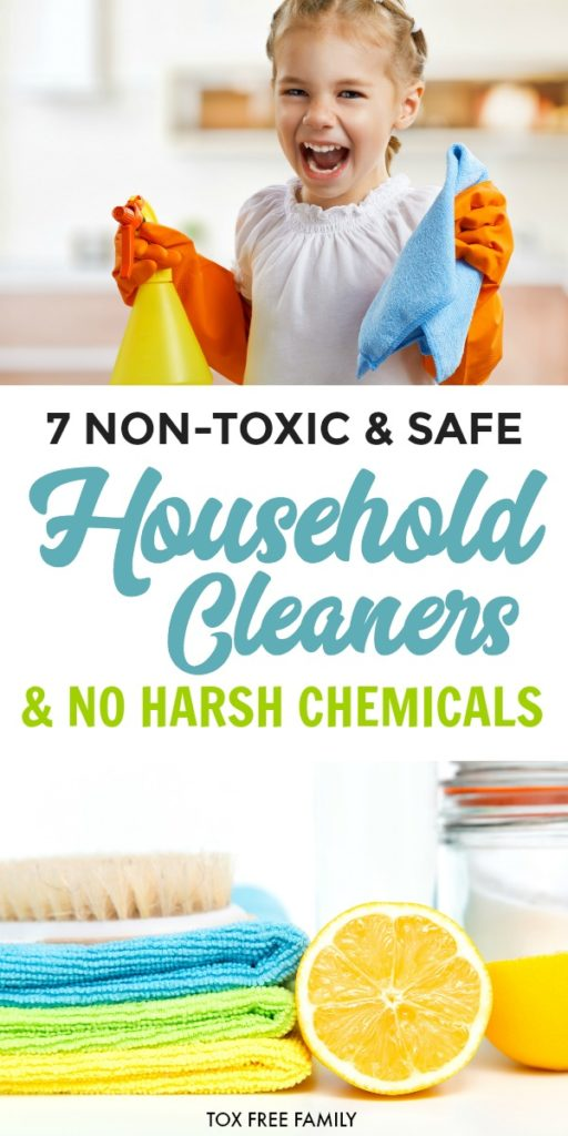 7 Non Toxic and Safe Household Cleaners without Harsh Chemicals