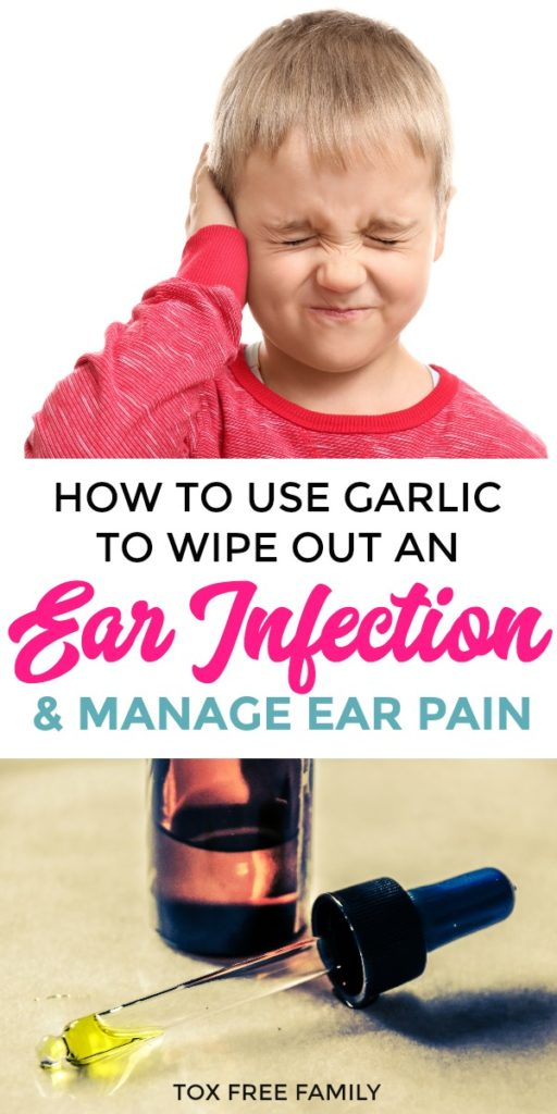 Garlic Olive Oil to Treat Ear Infection and Stop Ear Pain