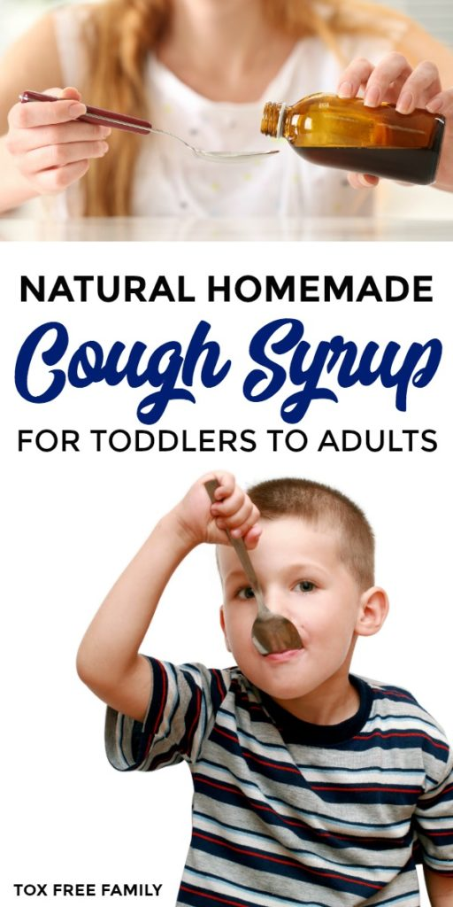 Homemade Cough Syrup for Toddlers and Adults