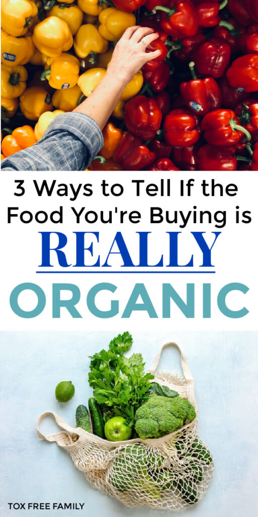 3 ways to tell if food is organic or not, and how is organic food different from conventional food? How to be a smart consumer when shopping for organic.