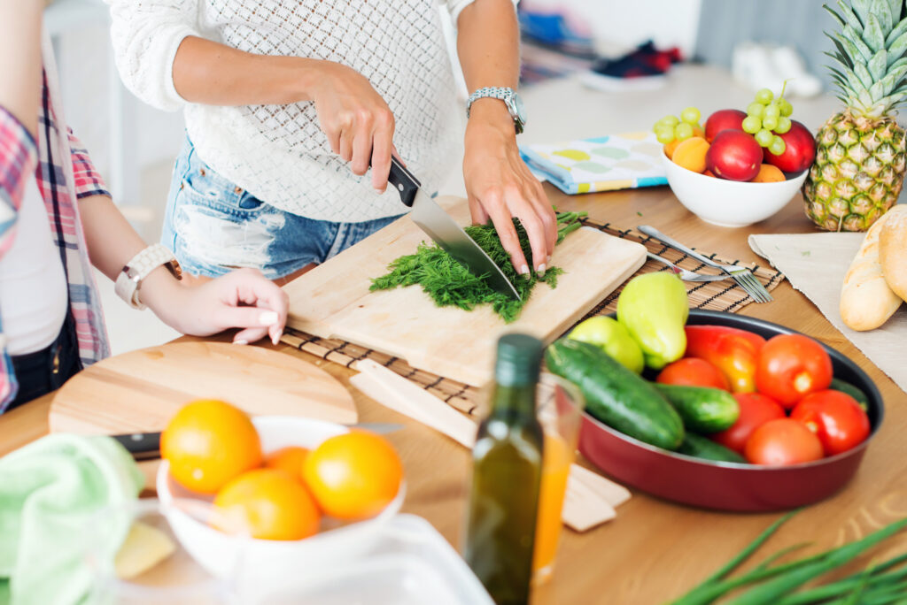 ditch harmful toxins in your body and home with the most impactful areas first. eat organic and healthy food